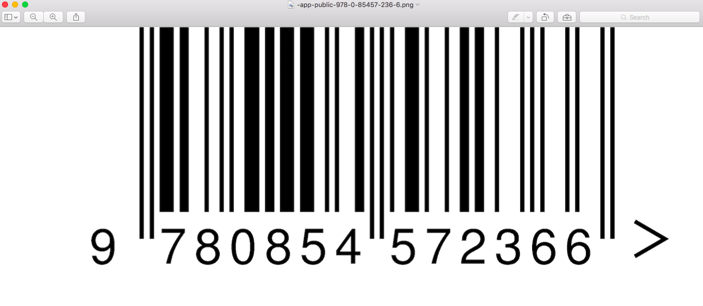 generate and download a barcode