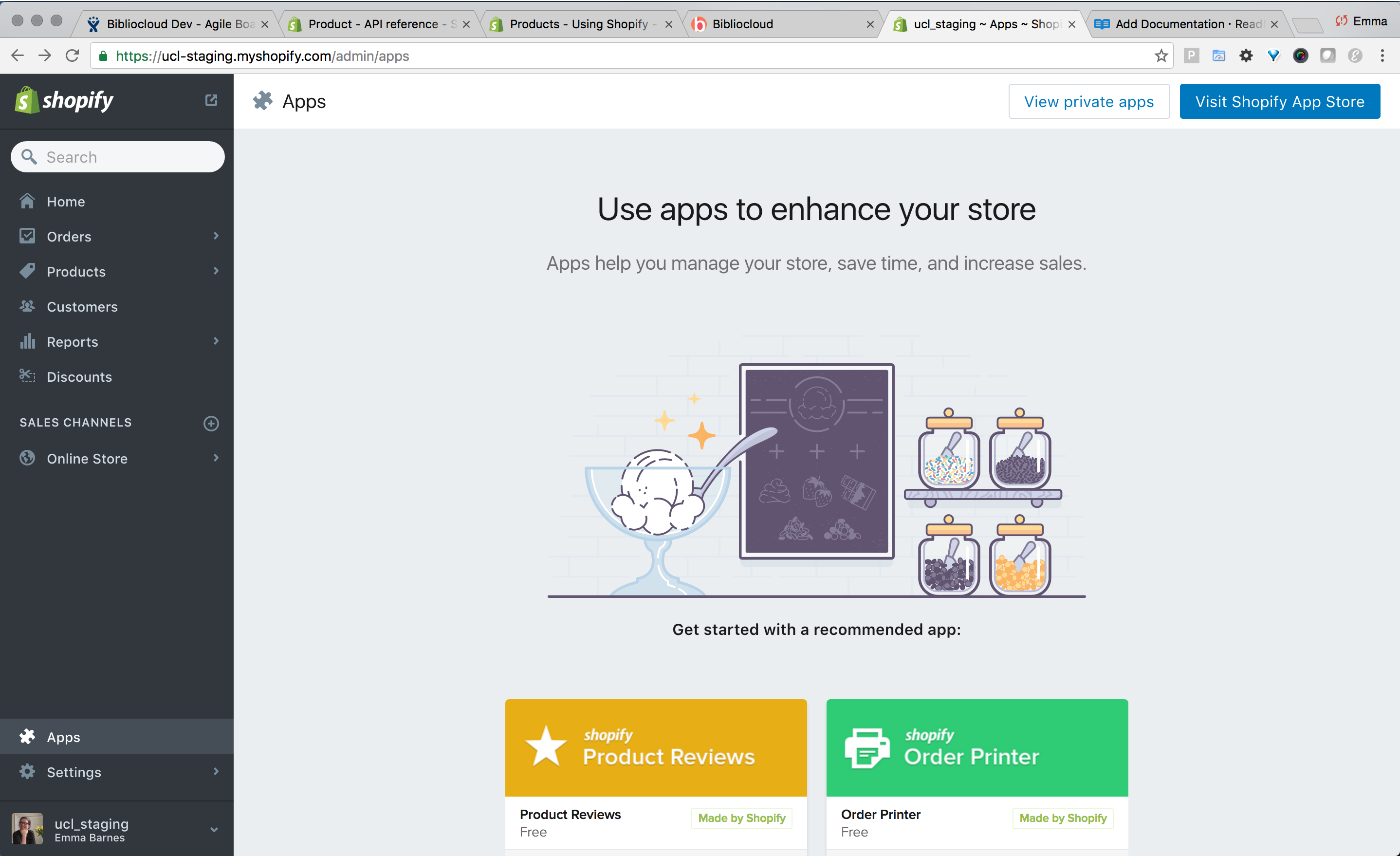 Link your account with a Shopify store | Consonance